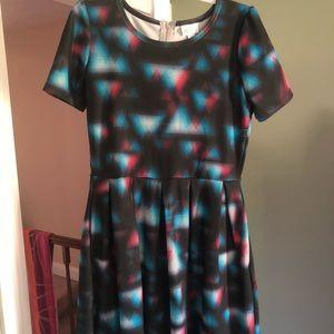 Geometric Amelia Dress